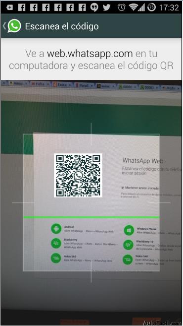 Escanera QR de WhatsApp