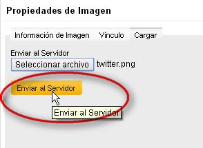 enviar imagen servidor